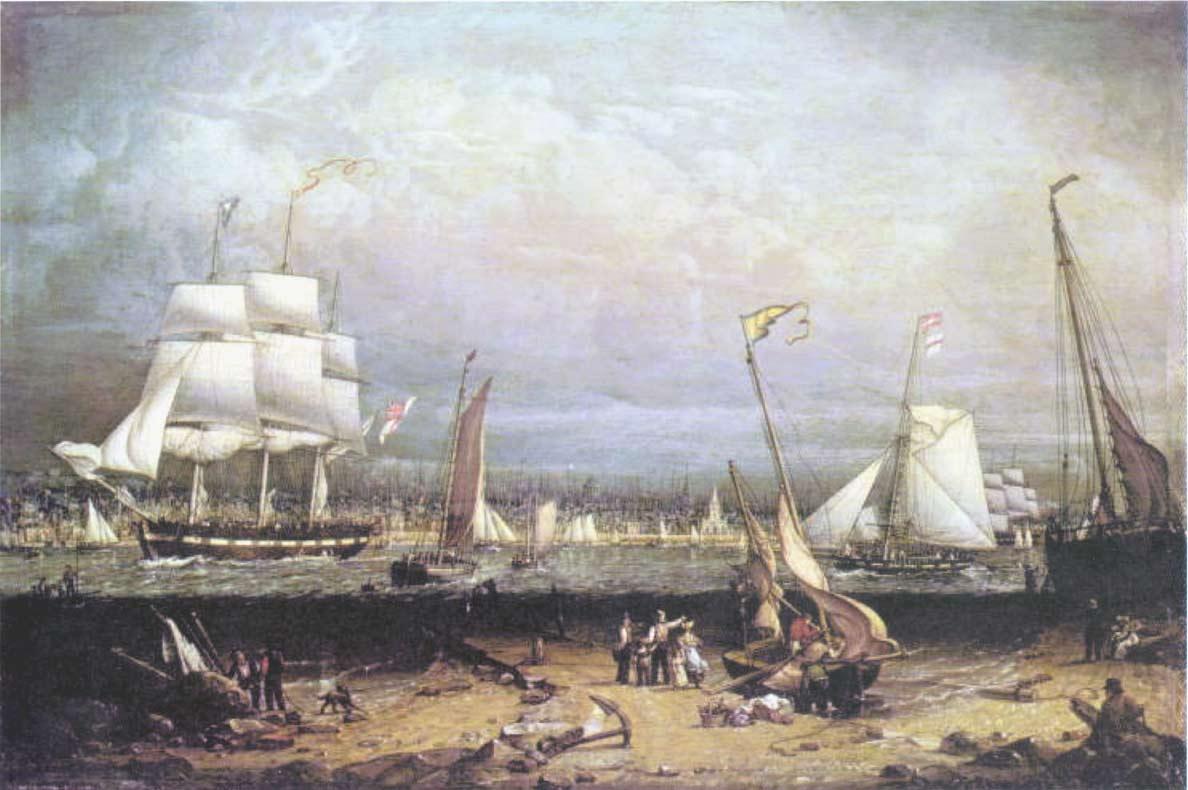 Liverpool Harbor 1814 | Robert Salmon | oil painting