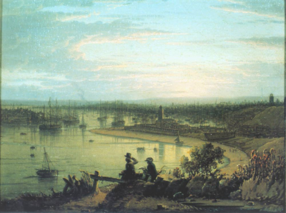 North Shields River Tyne 1832 | Robert Salmon | oil painting