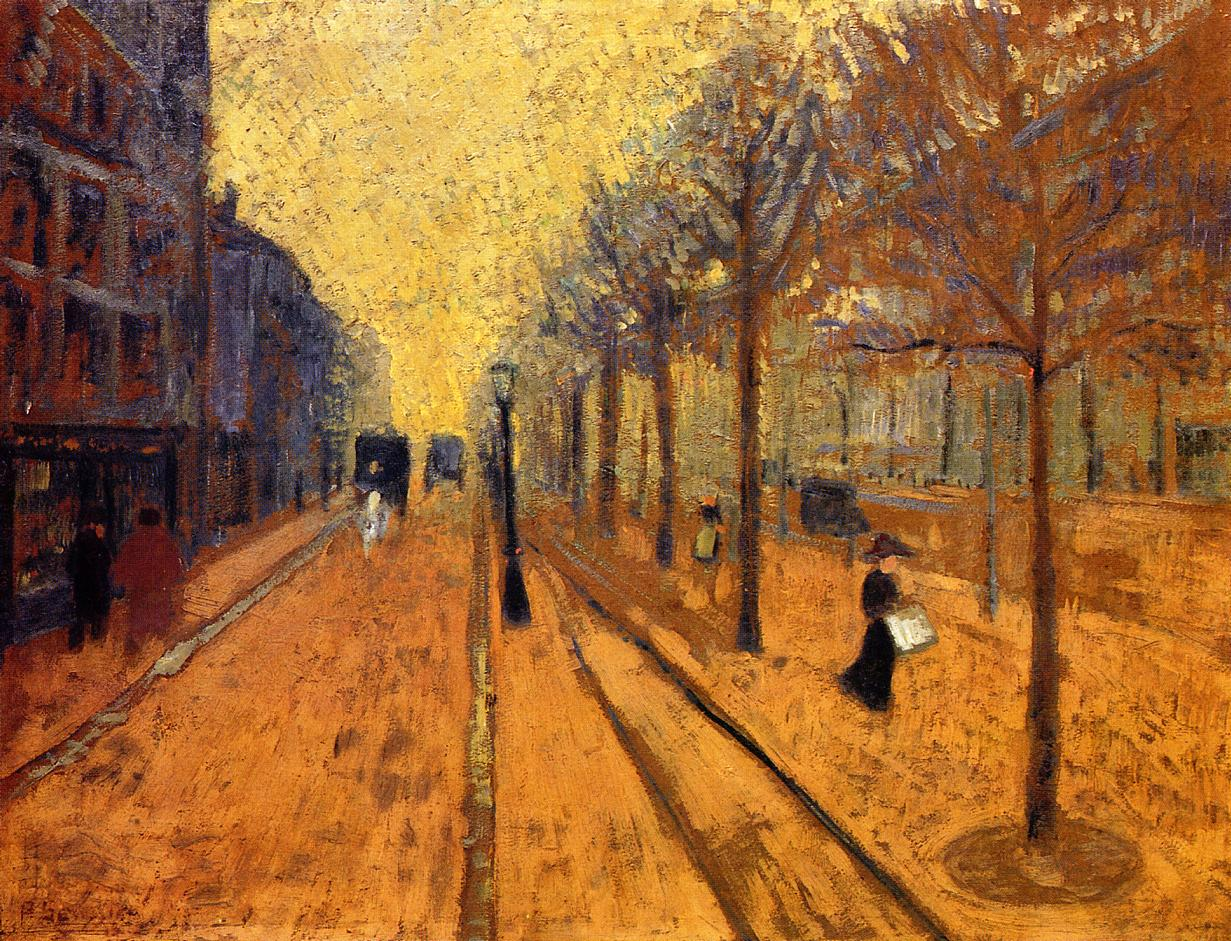 Avenue de Neuilly Date unknown | Paul Serusier | oil painting
