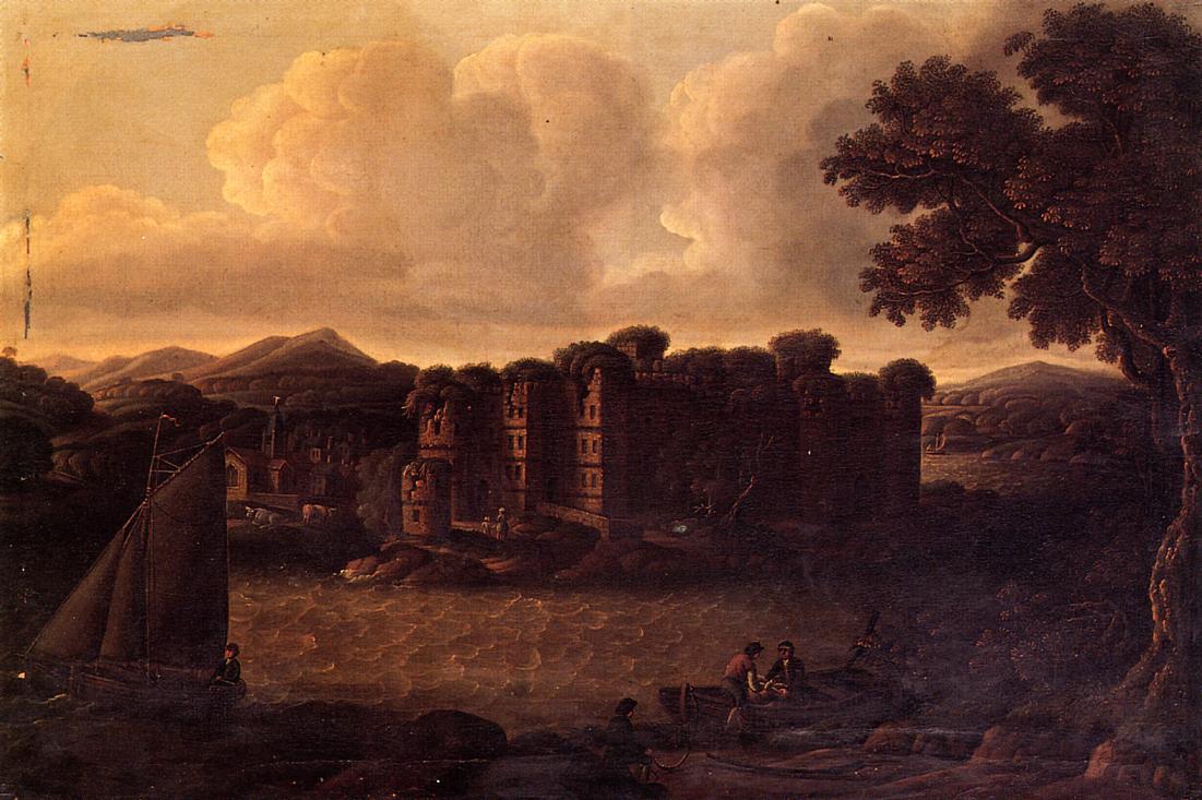 Dansboro Castle, Northumberland 1836