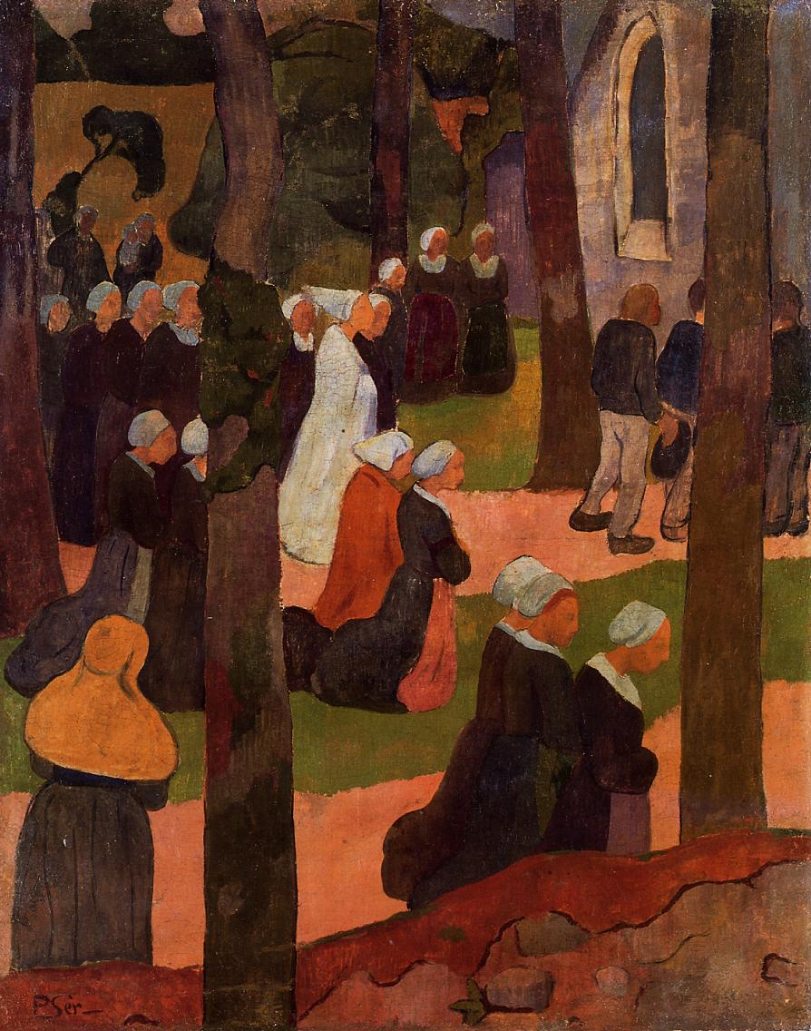 A Breton Sunday 1890 | Paul Serusier | oil painting