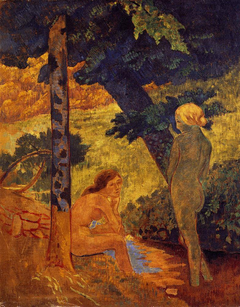 Bathers 1911-1914 | Paul Serusier | oil painting