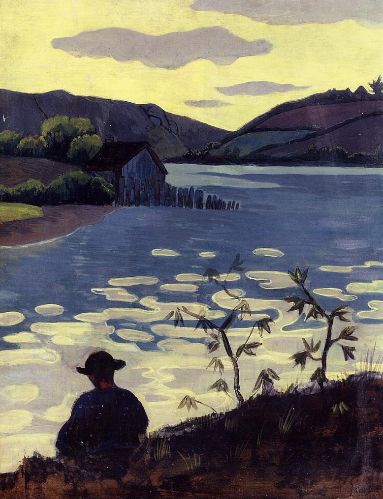 Fisherman on the Laita 1890 | Paul Serusier | oil painting
