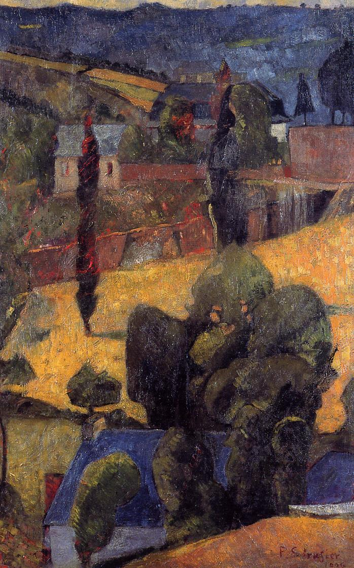 Landscape 1904 | Paul Serusier | oil painting