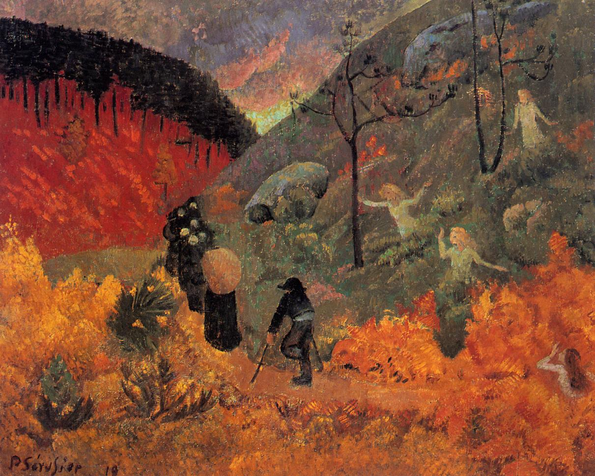Les Heures 1919 | Paul Serusier | oil painting