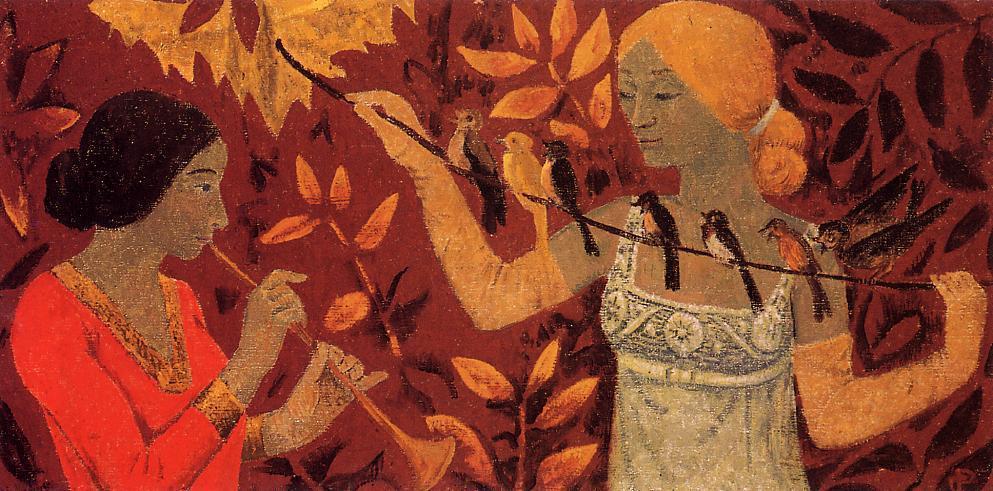 Scene 1912 | Paul Serusier | oil painting