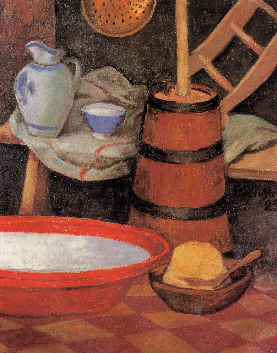 Still Life with Churn 1925 | Paul Serusier | oil painting