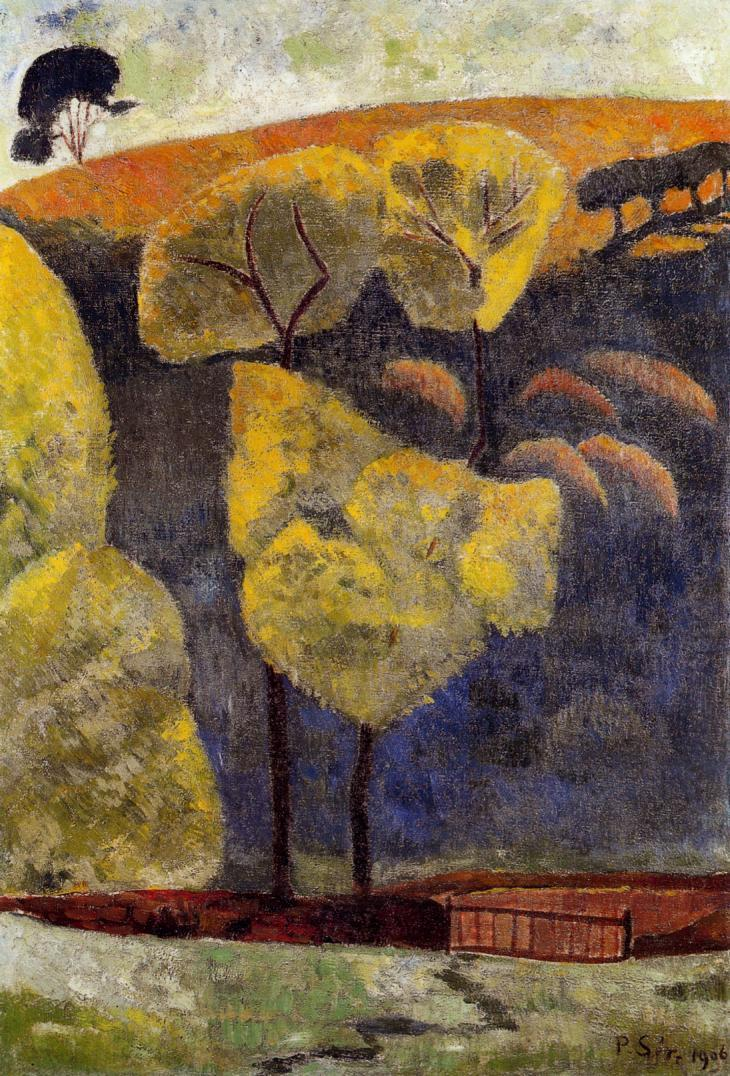 The Blue Valley 1906 | Paul Serusier | oil painting
