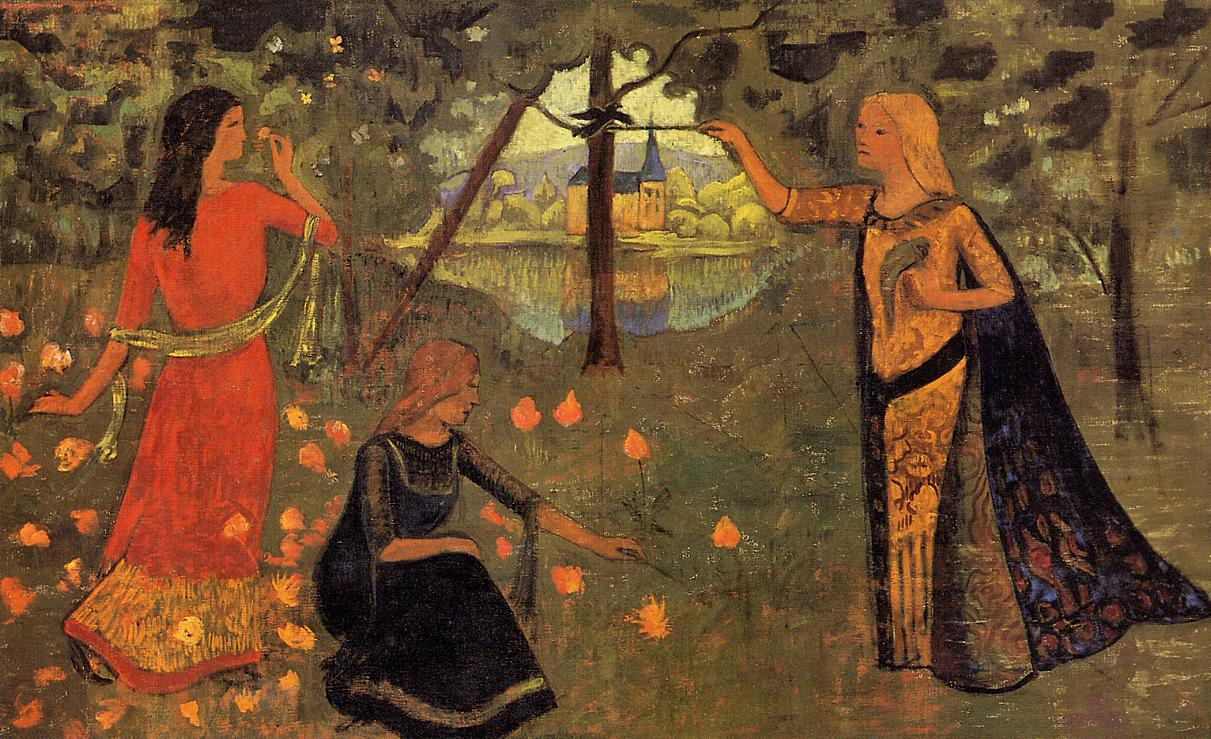 The Youth of Queen Anne 1904 | Paul Serusier | oil painting