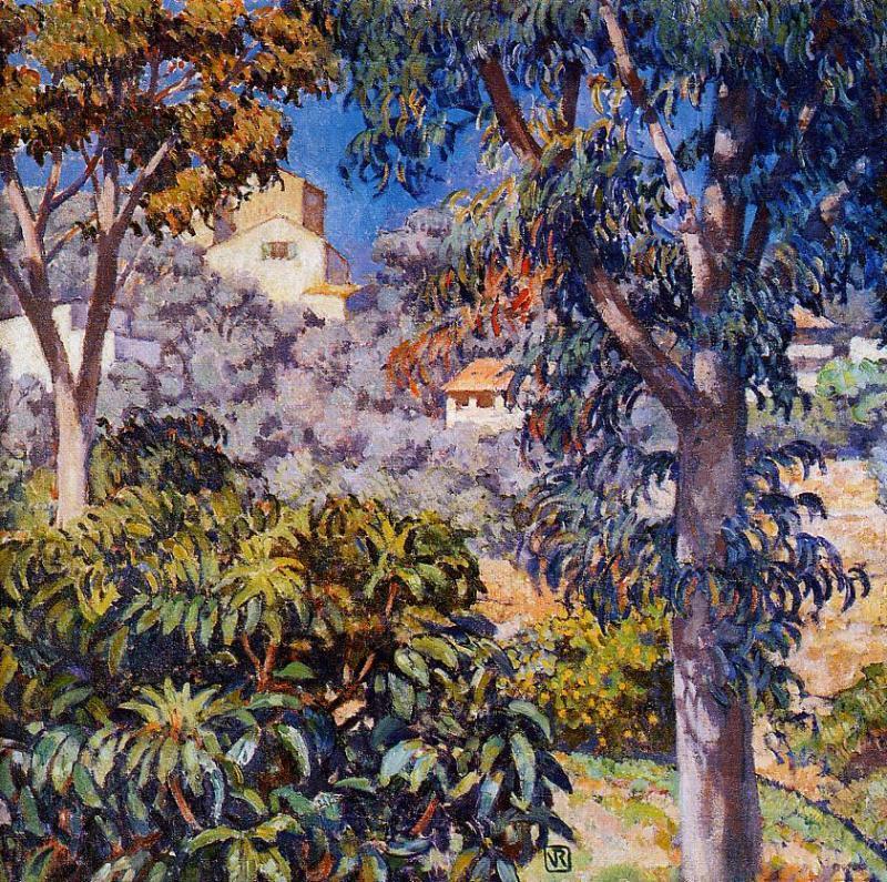 Noon Landscape 1920-1922 | Theo Van Rysselberghe | oil painting