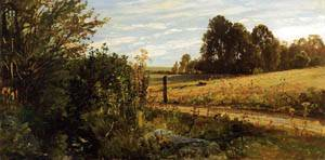 A Country Road 1884-1888 | William Trost Richards | oil painting