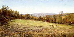 Chester County Landscape 1886-1889 | William Trost Richards | oil painting