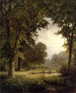 Idyllic Landscape 1874 | William Trost Richards | oil painting