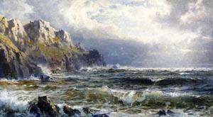 Moye Point Guernsey Channel Islands Date unknown | William Trost Richards | oil painting