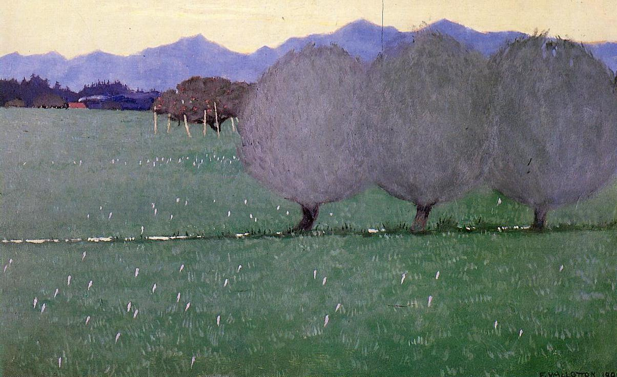 Autumn Crocuses 1900 | Felix Vallotton | oil painting