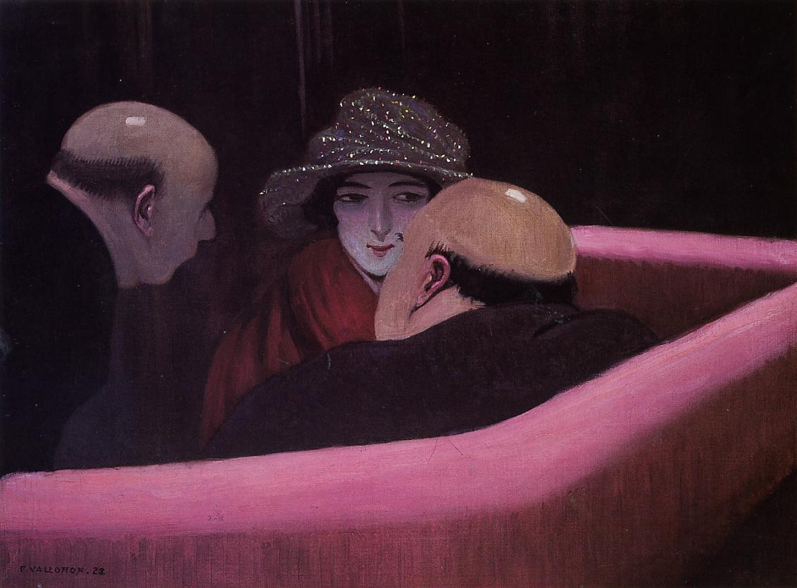 Chaste Suzanne 1922 | Felix Vallotton | oil painting