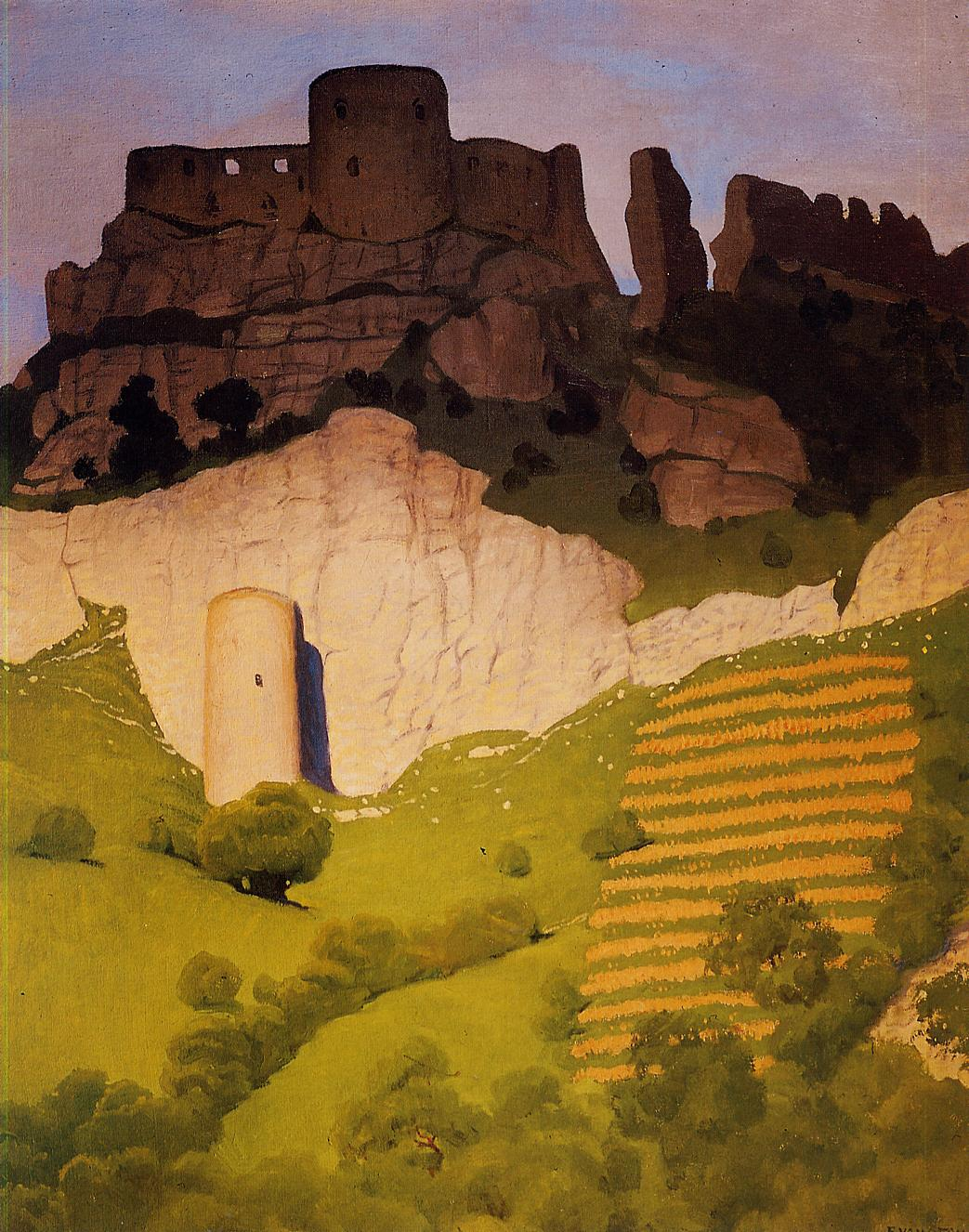 Chateau Gaillard at Andelys 1924 | Felix Vallotton | oil painting