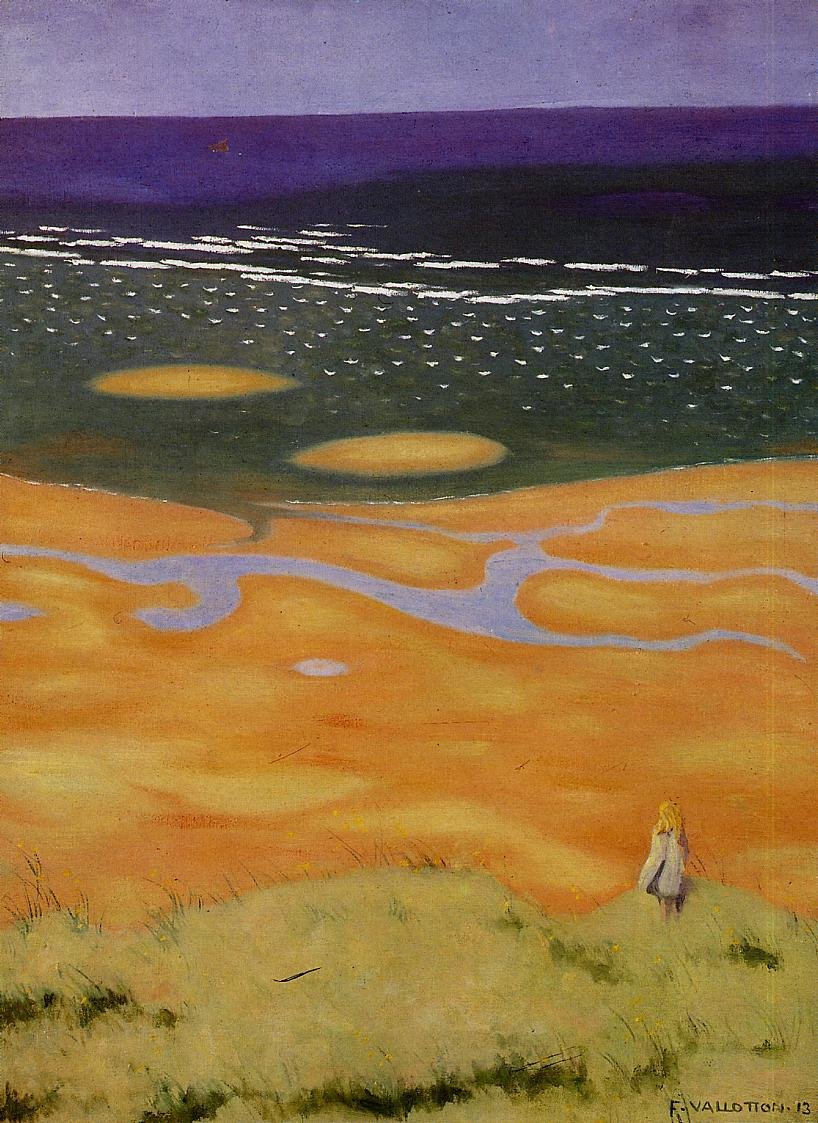The Rising Tide 1912 | Felix Vallotton | oil painting