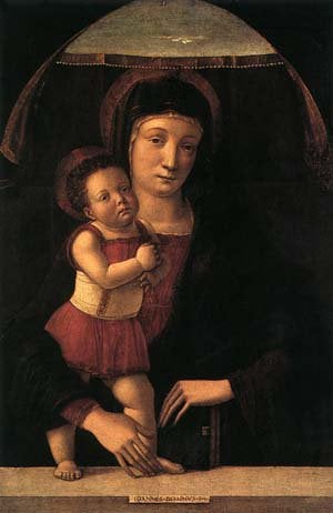 Madonna With Child | Giovanni Bellini | oil painting