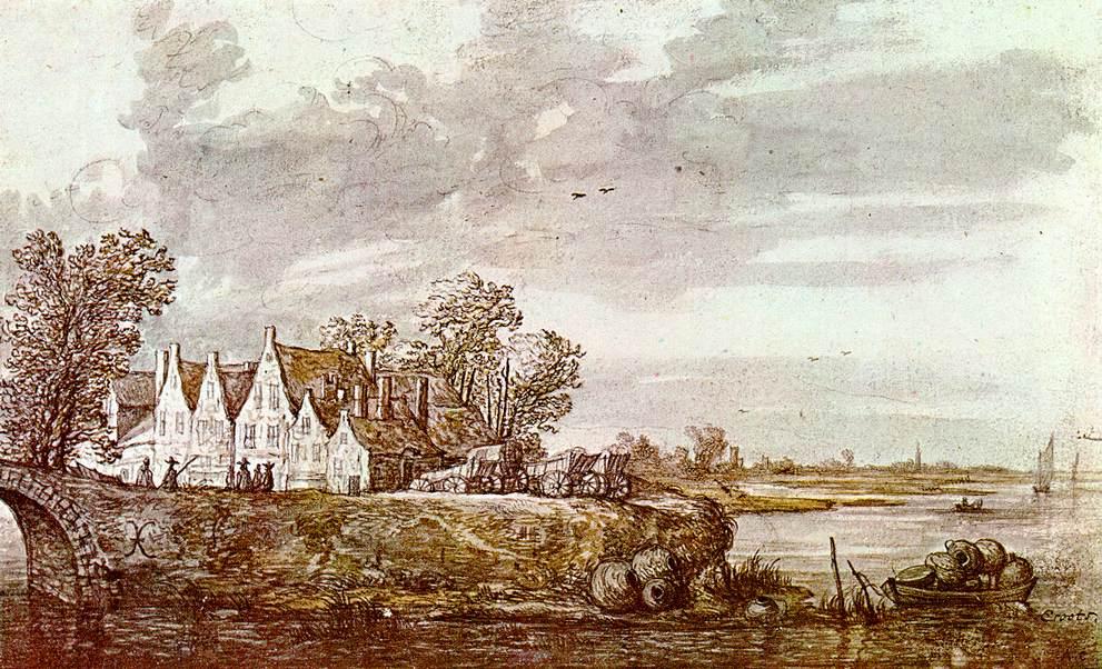 Landscape 1640 | Aelbert Cuyp | oil painting