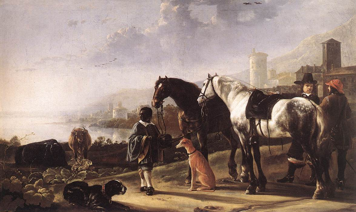 The Negro Page 1652 | Aelbert Cuyp | oil painting