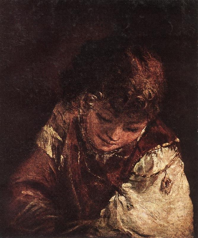 Portrait of a Boy 1700   Aert de Gelder   oil painting