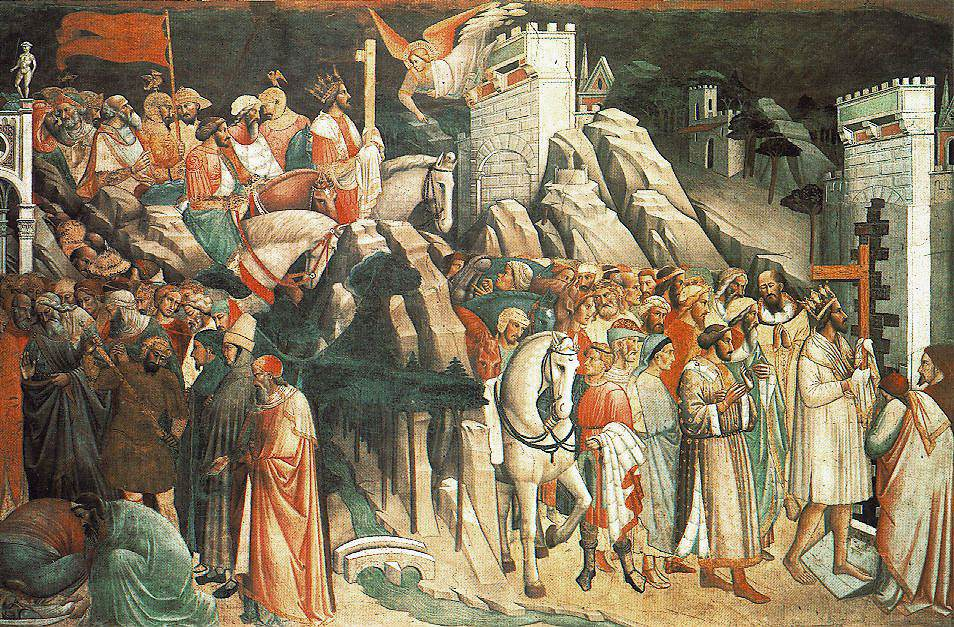 The Triumph of the Cross 1380 1 | Agnolo Gaddi | oil painting