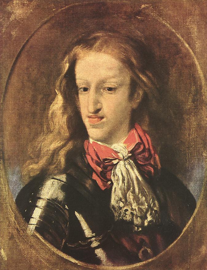 King Charles II 1675 1680   Claudio Coello   oil painting