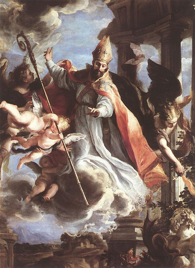 The Triumph of St Augustine 1664 | Claudio Coello | oil painting