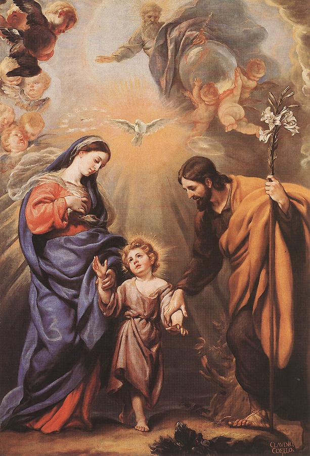 Holy Family | Claudio Coello | oil painting