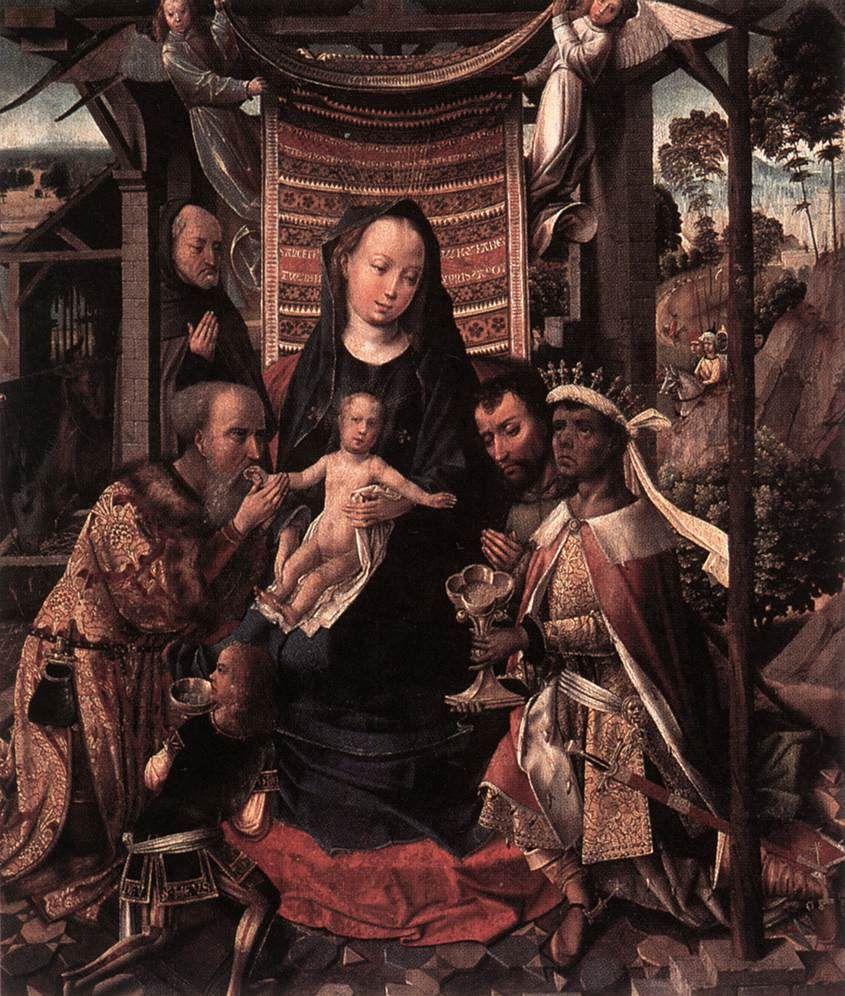 The Adoration of the Magi | Colijn de Coter | oil painting