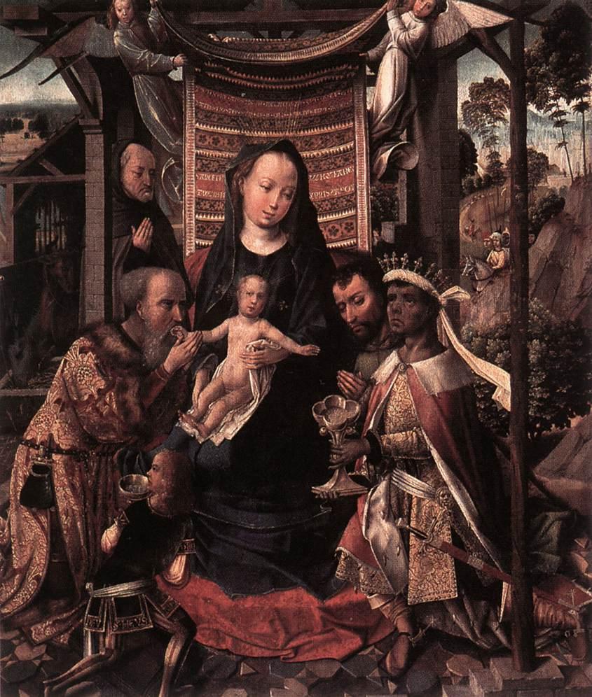 The Adoration of the Magi | Colijn de Coter | oil painting