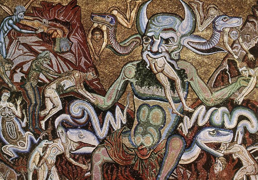 The Hell | Coppo Di Marcovaldo | oil painting