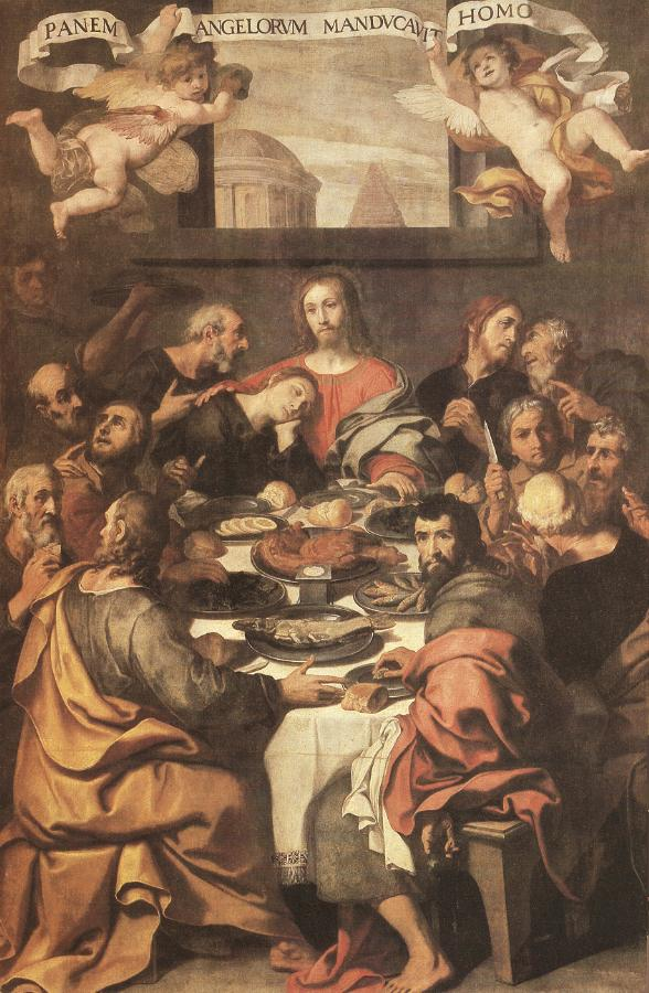 The Last Supper 1624 1625 | Daniele Crespi | oil painting