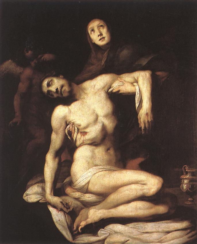 Pieta 1626 | Daniele Crespi | oil painting