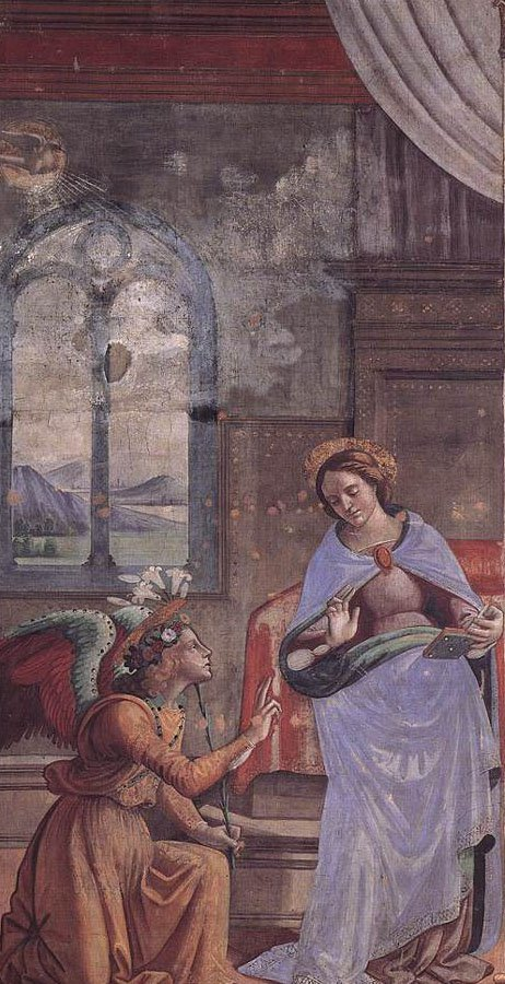 Annunciation | Domenico Ghirlandaio | oil painting