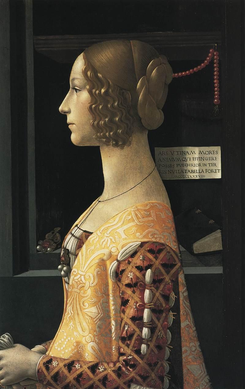 Portrait of Giovanna Tornabuoni 1488 | Domenico Ghirlandaio | oil painting