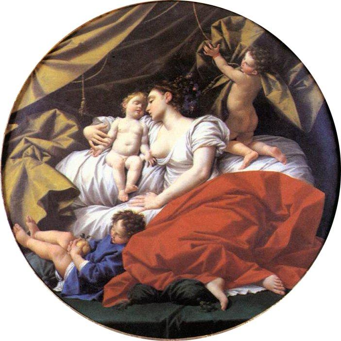 The Charity 1745   Donato Creti   oil painting
