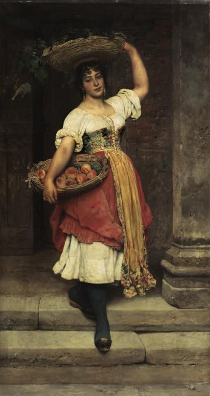 Lisa 1889 | Eugene de Blaas | oil painting