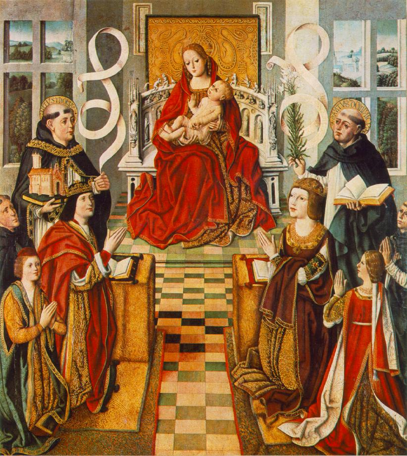 Madonna of the Catholic Kings 1490 1495 | Fernando Gallego | oil painting