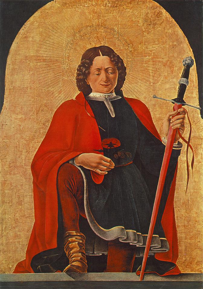 St Florian 1473 | Francesco del Cossa | oil painting