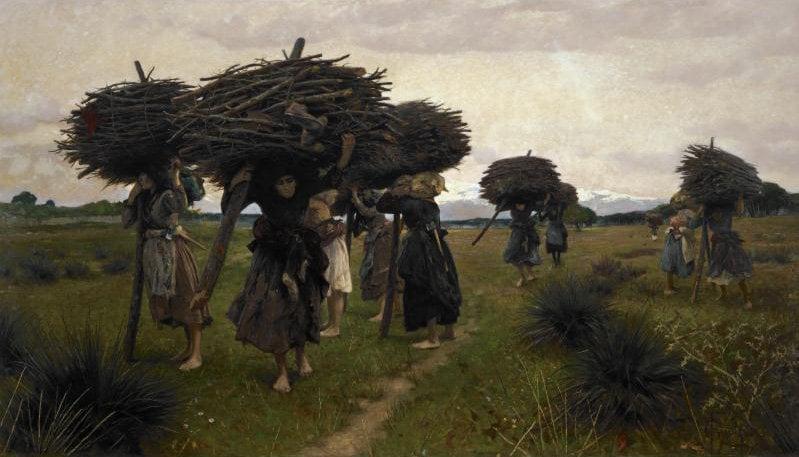 La Boscaiuole di San Rossore | Francesco Gioli | oil painting