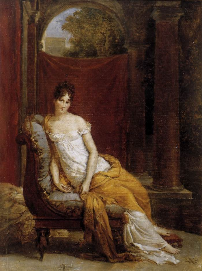 Madame Reamier 1802 | Francis Gerard | oil painting