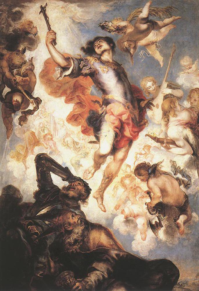The Triumph of St Hermengild | Francisco Herrera the Younger | oil painting