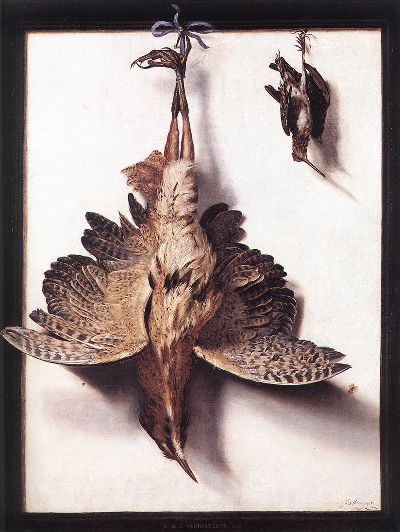 Still Life with Fowl | Frans Cuyck Van Myerop | oil painting