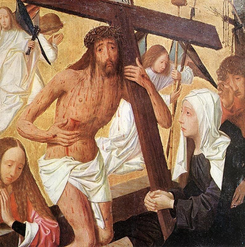 Vir Dolorum 1495 | Geertgen tot Sint Jans | oil painting
