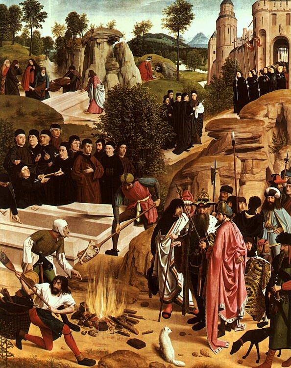 The Bones of St John the Baptist 1485 | Geertgen tot Sint Jans | oil painting