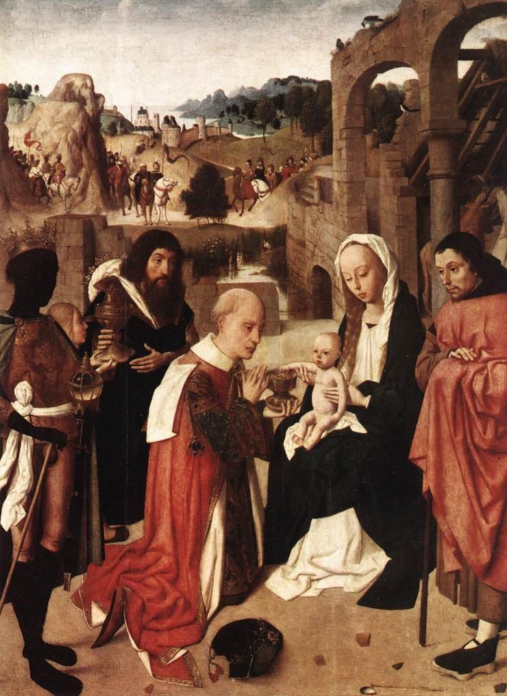 Adoration of the Kings | Geertgen tot Sint Jans | oil painting