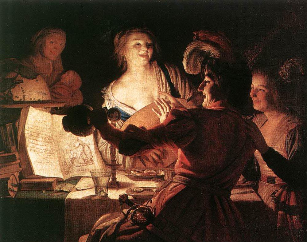 The Prodigal Son 1623 | Gerrit van Honthorst | oil painting