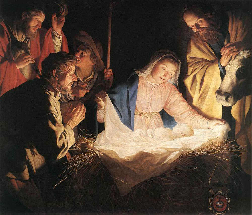Adoration of the Shepherds 1622 | Gerrit van Honthorst | oil painting